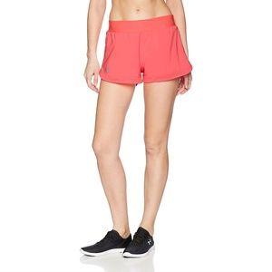 Under Armour Womens Speedpocket Sports Shorts Pink